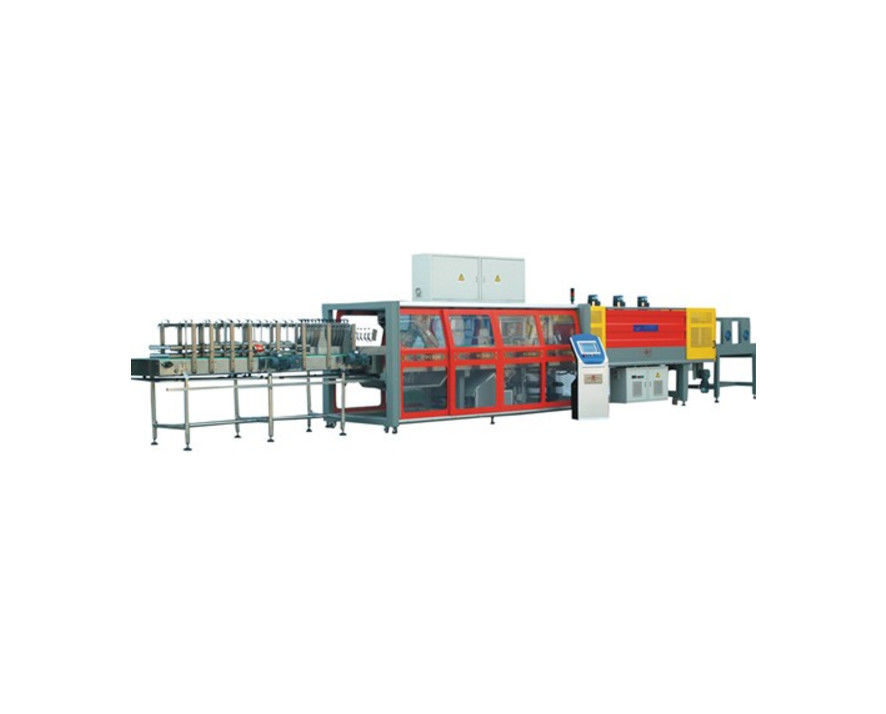 Carbon Steel Material Water Bottle Packing Machine For Bottled Beverage Package