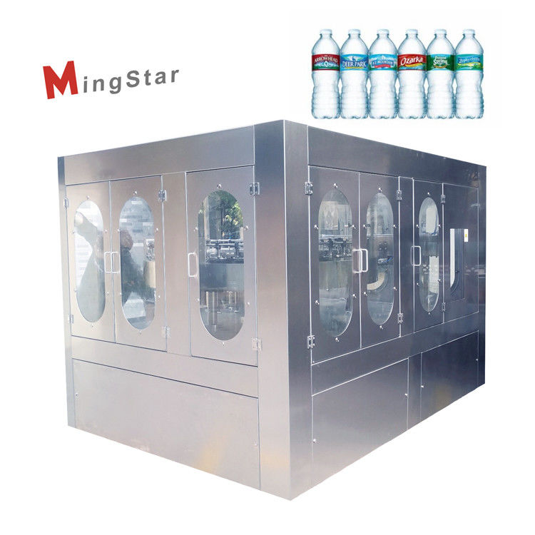 Stainless Steel Rotary Type Plastic Bottle Filling Machine With High Efficiency